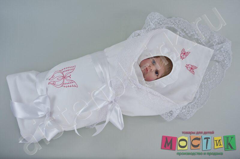 Конверт для новорожденного своими руками для лета
