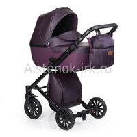 Коляска  ANEX CROSS 2 in 1 DARK PLUM